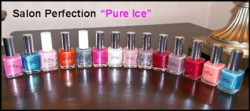 NEW Bari PURE ICE NAIL POLISH  MANY TO CHOOSE FROM  SOME DISCONTINUED