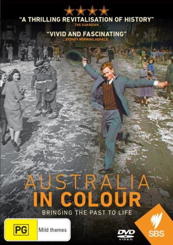 Australia in Colour DVD Region 4 NEW