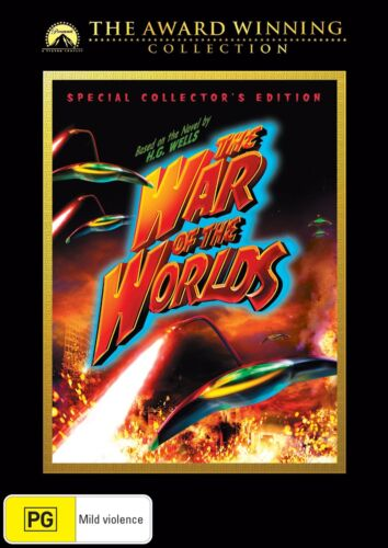 The War of the Worlds DVD Region 4 NEW