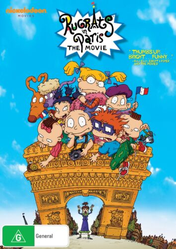 Rugrats in Paris The Movie DVD Region 4 NEW
