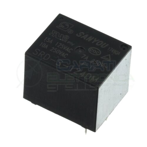 1PC SANYOU SMI-S-212LM Relay 12VDC 5A250VAC