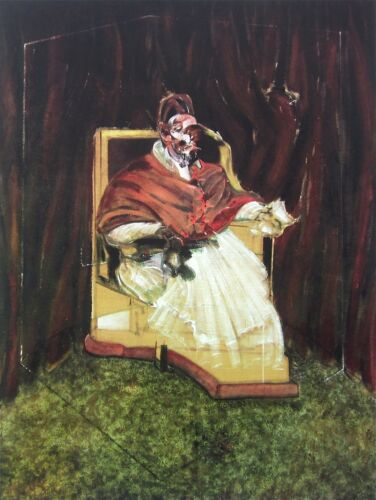 Portrait Pope Innocent X, Limited Edition Offset Lithograph, Francis Bacon