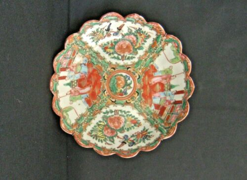 Antique Chinese Famille Rose Porcelain Bowl Circa 1900-1920