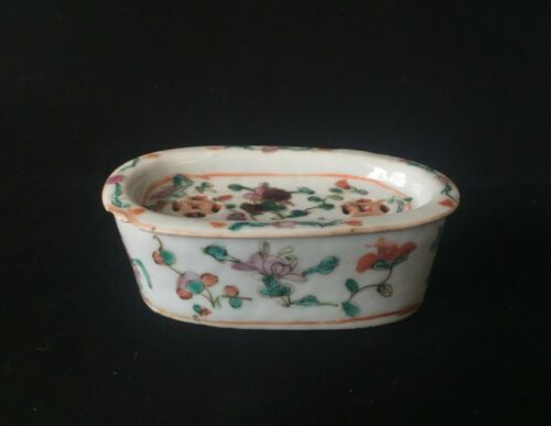 Antique Chinese Porcelain Covered Box