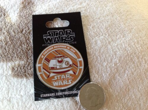 Disney D23 Expo STAR WARS The Force Awakens Pin Limited Release