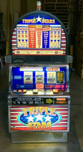 Top Holiday Gifts IGT Triple Stars Slot Machine For Sale