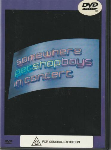 PET SHOP BOYS IN CONCERT - SOMEWHERE  - ALL REGION PAL - 1997