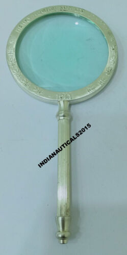 Vintage Collectable Antique Magnifying Glass Map Reader Nautical Decor Gift