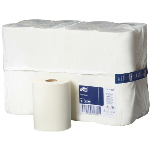 Tork Hand Towels Paper Towel Roll Bulk Industrial Kitchen White 8/16/32 Rolls