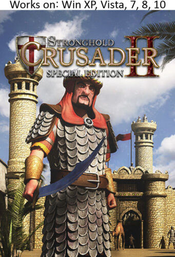 Stronghold Crusader II 2 Special Edition PC Game Windows XP Vista 7 8 10