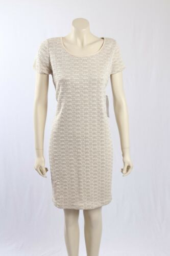 NEW Evan Picone -Size 16- Cream Knitted Sweaterdress-RRP:$99.00