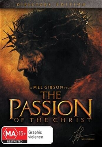 The Passion of The Christ (DVD, 2018, Region 4) Mel Gibson Jim Caviezel NEW