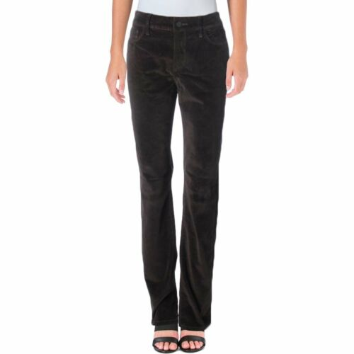 NWT Corduroy MOLASSES Samantha NYDJ Not Your Daughters Jeans Slim Straight Pants