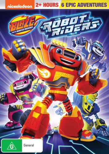 Blaze and the Monster Machines Robot Riders DVD Region 4 NEW