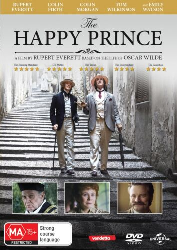The Happy Prince DVD Region 4 NEW