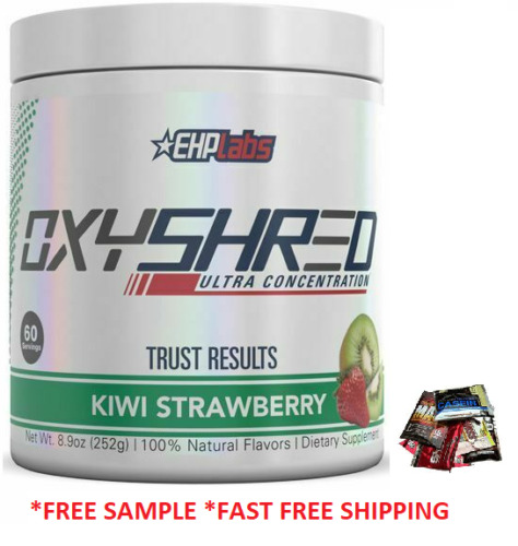Ehplabs Oxyshred 60 Serves  Flavour Ehp Labs Oxy Shred Burner