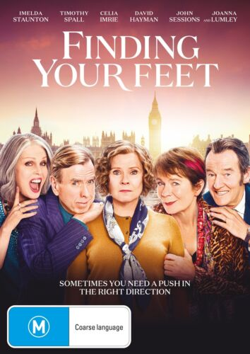Finding Your Feet DVD Region 4 NEW