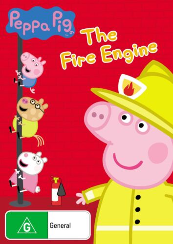 Peppa Pig The Fire Engine and Other Stories DVD Region 4 NEW