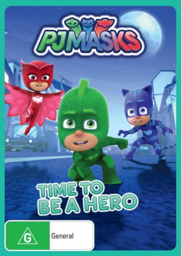 PJ Masks Time to Be a Hero DVD Region 4 NEW