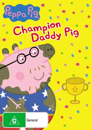 Peppa Pig Champion Daddy Pig and Other Stories DVD Region 4 NEW