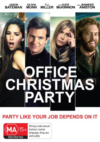 Office Christmas Party DVD Region 4 NEW