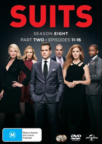 Suits Season 8 Series Eight Part Two DVD Region 4 NEW