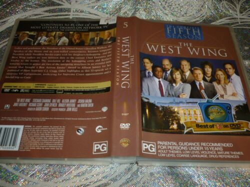 THE WEST WING THE COMPLETE FIFTH SEASON (6 DISC) (DVD, PG)