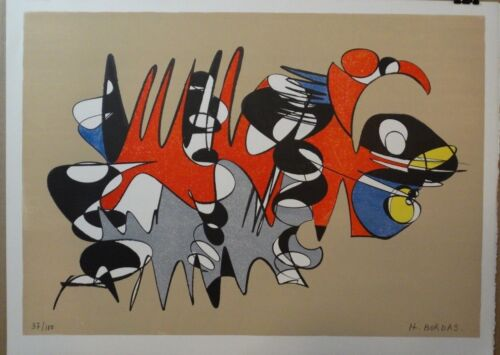 Herve Bordas, Untitled/Abstract, High Quality Print on heavy weight paper