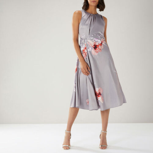 COAST Beautiful Claude Print Soft Midi Dress Brand New! RRP £129