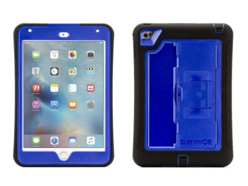 Griffin Survivor Slin iPad Mini 4 Black/Blue