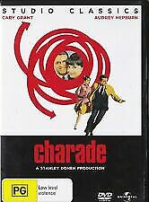 Charade - Audrey Hepburn, Cary Grant   brand new sealed