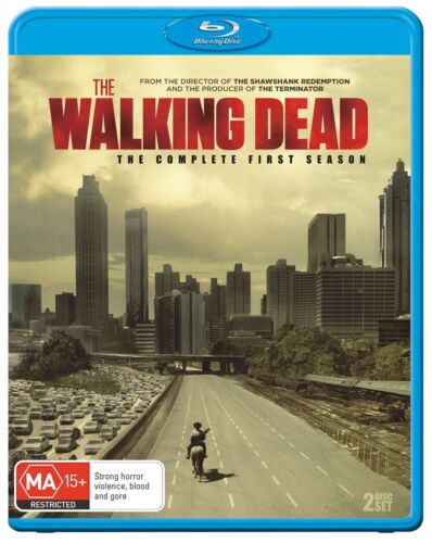 The Walking Dead The Complete First Season 1 Series OneBlu-ray Region B NEW