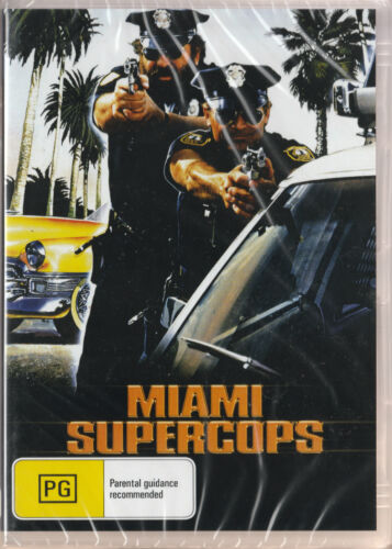 Bud Spencer: MIAMI SUPERCOPS *New & SEALED* ALL Regions (Plays on any Player)