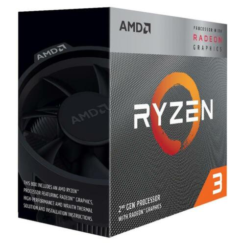 AMD Ryzen 3 3200G AM4 Processor 4MB 3.6 GHz 4 Core 4 Thread CPU Vega 8 Graphics <br/> 15% OFF With Code PANTHER. Ebay Plus Only. T&C Apply.