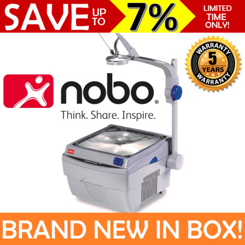 NEW IN BOX Nobo Quantum Overhead Projector Lamp 240V School Lecture OHP 2511 5Y