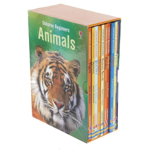 New Usborne My First Animal Library 10 Books Collection Educational Learning Set