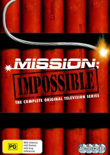Mission Impossible The Original Television Series Box Set DVD Region 4 NEW