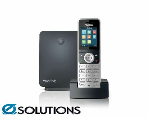Yealink W53P Wireless DECT Phone including W60B Base Station and 1 W53H Handset