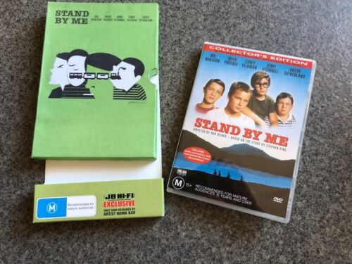 DVD Stand By Me Limited Edition Noma Bar Rare Collectible R4