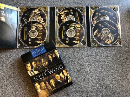 The West Wing The Complete Seventh Season 7 - 6 Disc DVD Set