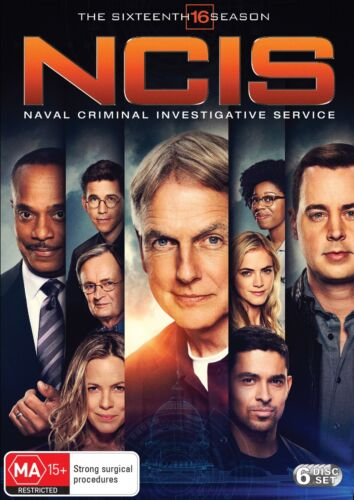 NCIS The Sixteenth Season 16 Box Set DVD Region 4 NEW // PRE-ORDER <br/> *** PRE-ORDER *** EXPECTED DELIVERY DATE 28/08/2019 ***