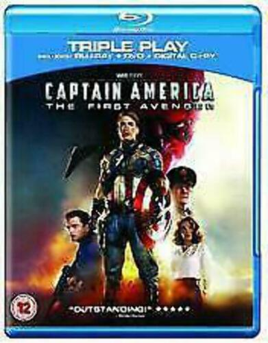 Captain America The First Avenger -Triple Play Chris Evans vgc BLURAY ALL REGION