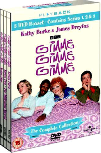 GIMME GIMME GIMME COMPLETE SERIES SEASON 1 2 3 COMEDY COLLECTION NEW 3 DVD R4