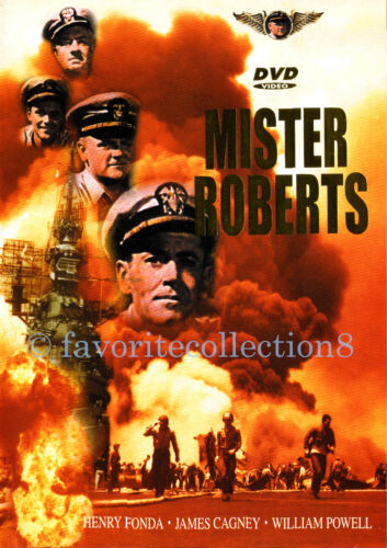 Mister Roberts (1955) - Henry Fonda, James Cagney, William Powell - DVD NEW