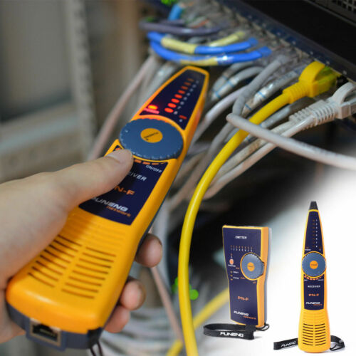 PN-F LAN Network Cable Tester Finder Telephone Wire Tracker Fluke Line Diagnose