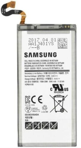 New OEM Original Genuine Samsung Galaxy S8 SM-G950 EB-BG950ABA Battery 3000mAh