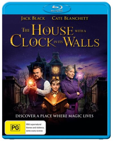 The House With a Clock in Its Walls Blu-ray Region B NEW