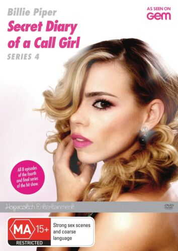 The Secret Diary of a Call Girl Series 4 DVD Region 4 NEW