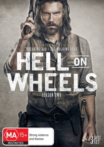 Hell On Wheels The Complete Second Season 2 Series Two Box Set DVD Region 4 NEW