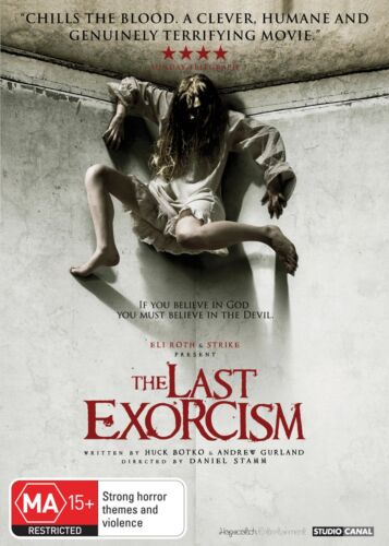 The Last Exorcism DVD Region 4 NEW